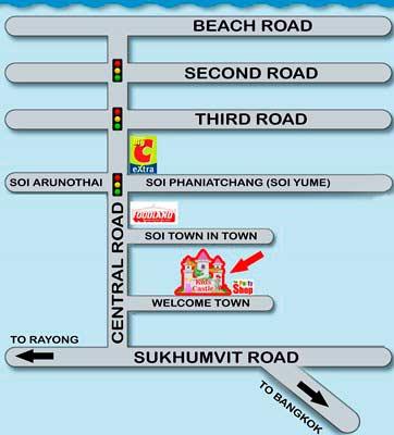 карта проезда в виггл таун - кидс кастл