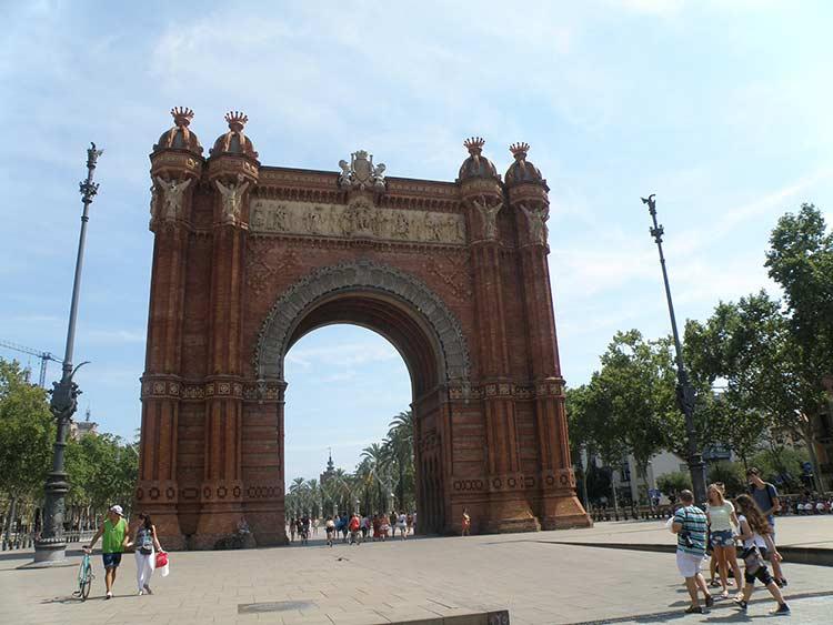 Триумфальная арка (фото)