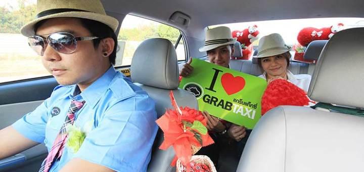 дешевое такси в Паттайе - Грэб такси фото
