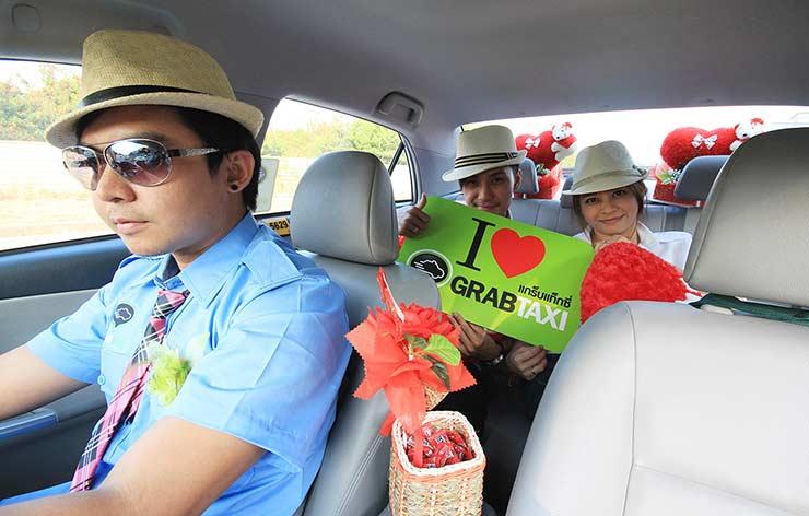 Такси в Паттайе и в Бангкоке -заказать такси дешево с GrabTaxi