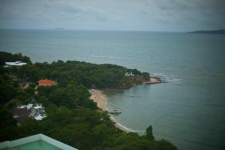 вид на море из номеров в Кози Бич отеле фото