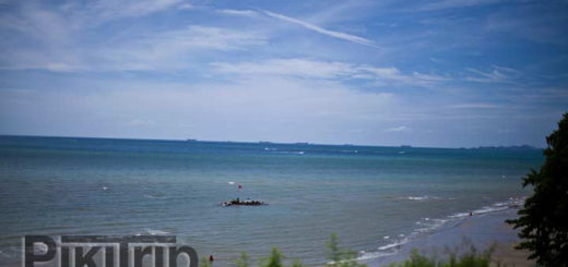 пляж Кози Бич Паттайя