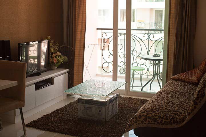 гостиная с раскладным диваном