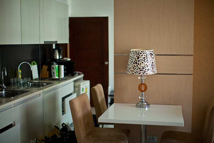 кухня в парадайз кондо фото
