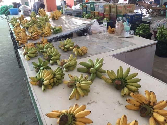 бананы в Паттайе тоже очень дешевы
