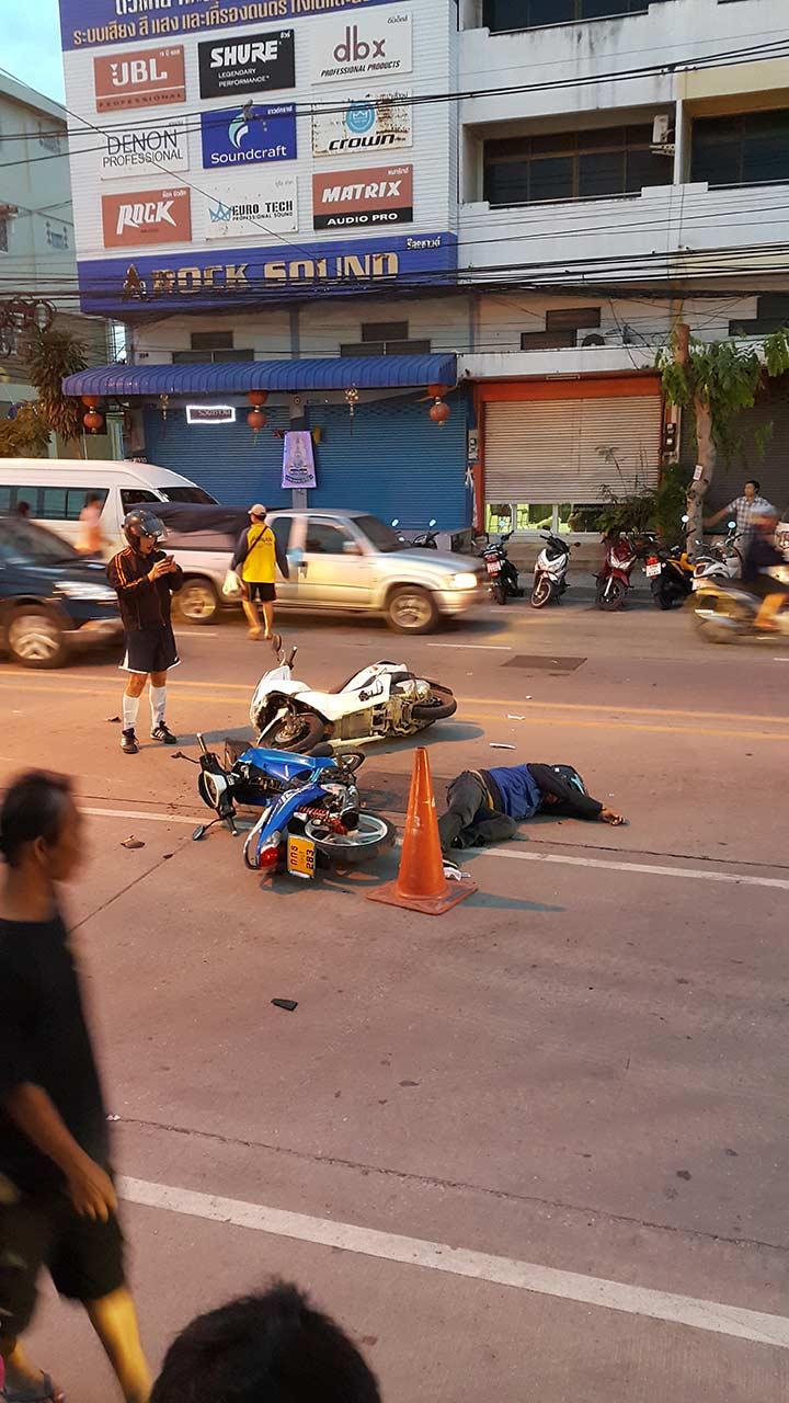 авария с мопедом фото