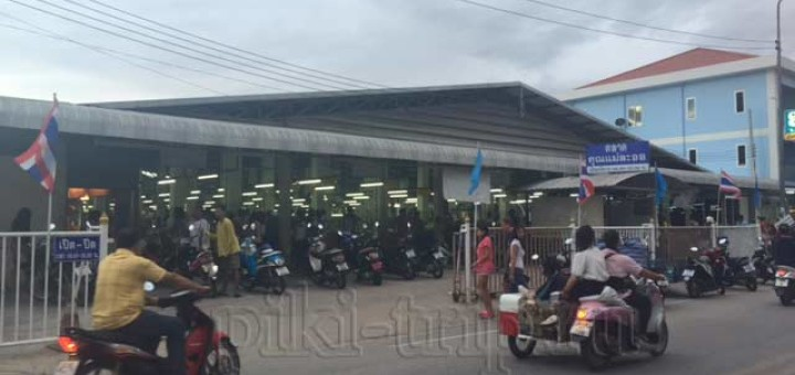 рынки Паттайи - ват бун фото