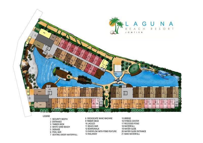 Laguna Beach Resort - Лагуна Бич Резорт - план дома