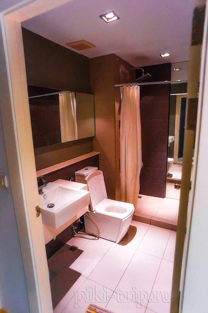 GALLERY_студия, фото ванной и туалета