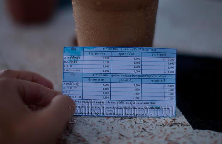 цены на аренду бунгало на Хат Нанг Рам фото