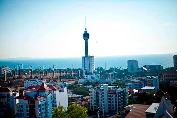 Развлечения в Паттайе: спуск с башни в Паттайя Парке (фото)
