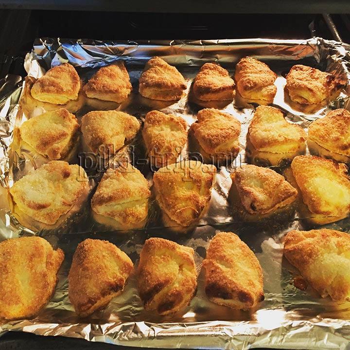 Печенье треугольники из творога пошаговый рецепт с фото - быстрое печенье без яиц