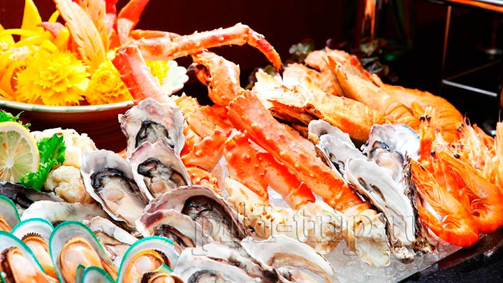 свежии морепродукты недорого - это реальность)