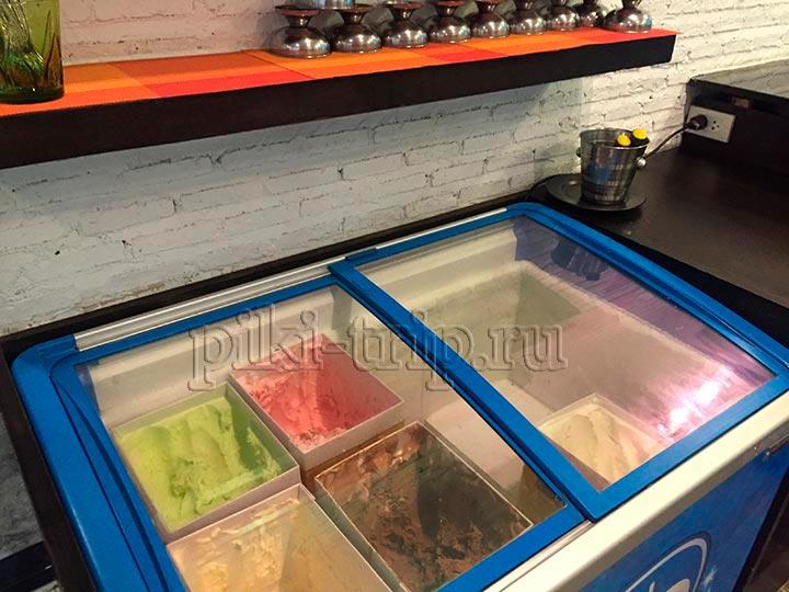 выбор мороженого