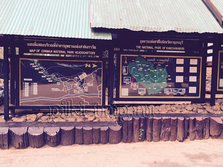карта нац парка