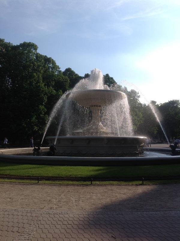 Варшава: Саксонский парк (фото)