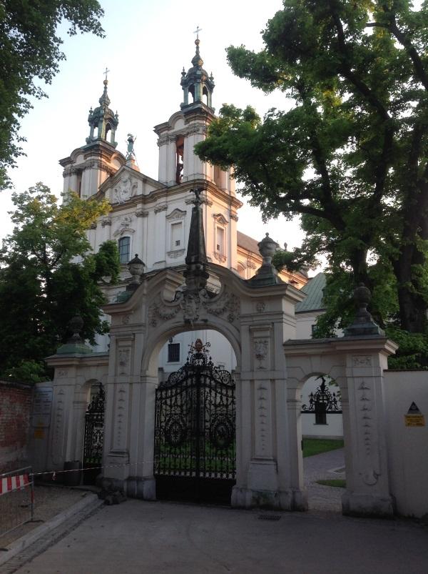 Паулинский костел на Скалке в Кракове (фото)