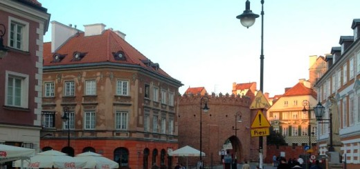 Варшава, в старом городе (фото)