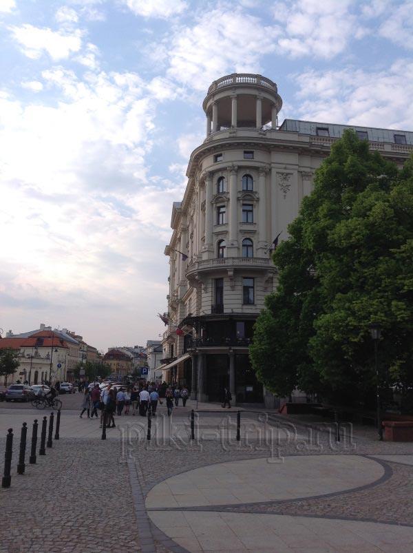 Отель Бристоль в Варшаве (фото)