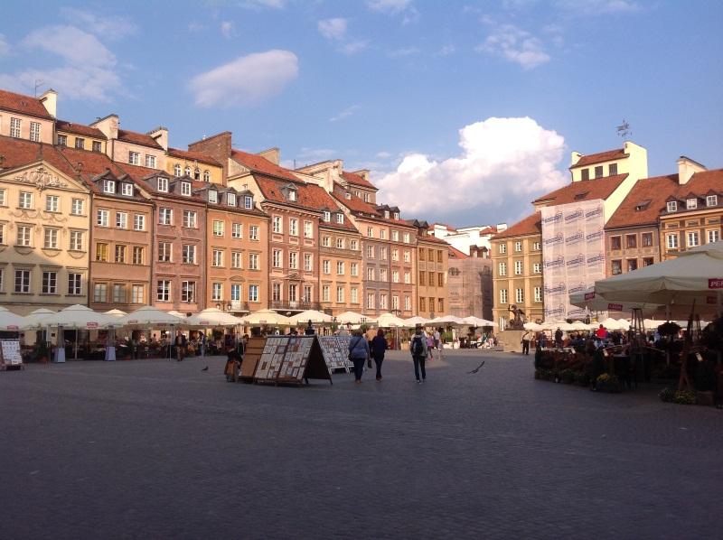 Исторический центр Варшавы: Старая рыночная площадь (фото)