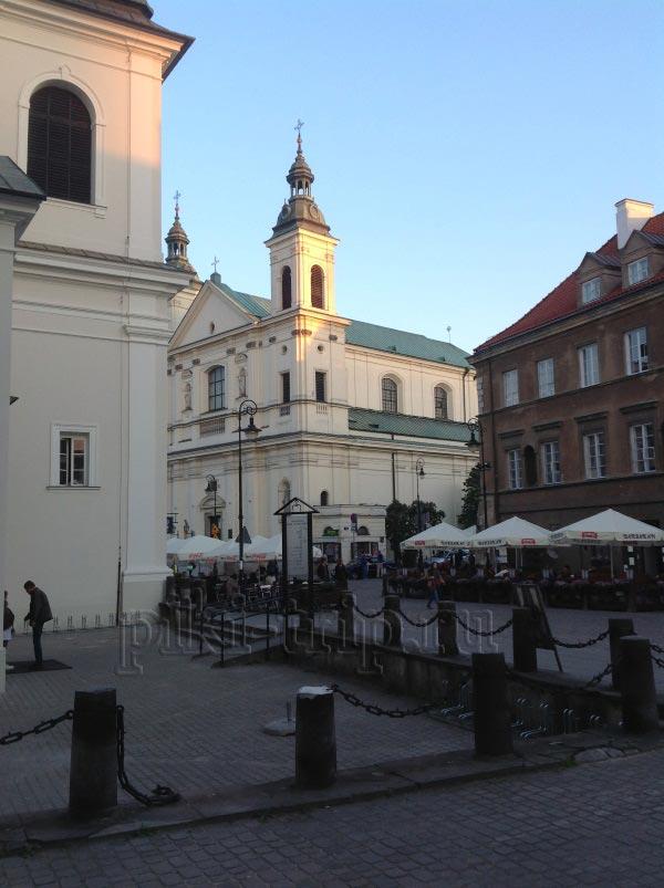 Варшава: Кафе на ул. Фрета (фото)