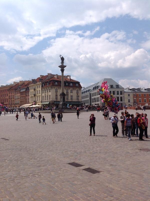 Исторический центр Варшавы: Колонна Сигизмунда (фото)