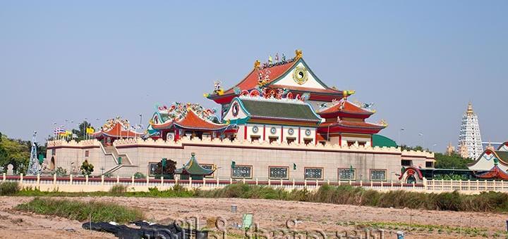 китайский храм в Паттайе Вихарнра сиен