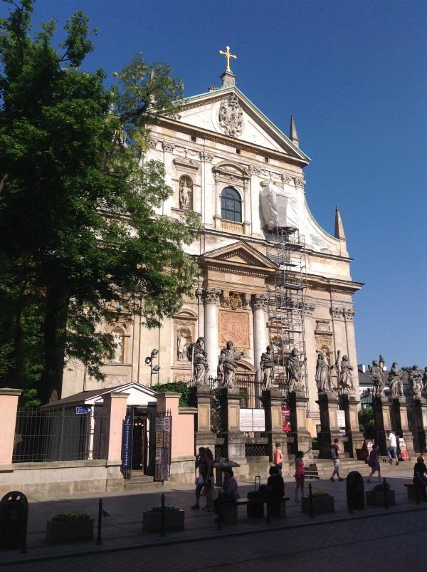 Краков достопримечательности: Костел св.Петра и Павла (фото)