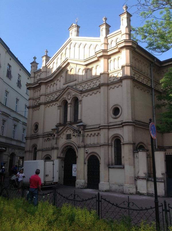 Краков достопримечательности: Храмовая синагога (фото)