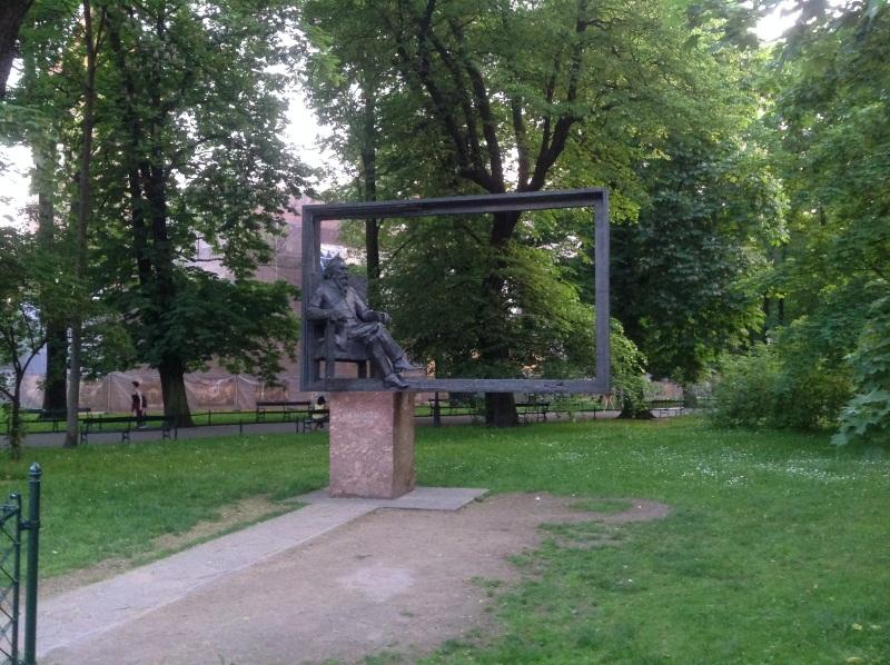 Краков достопримечательности: памятник Яну Матейко (фото)