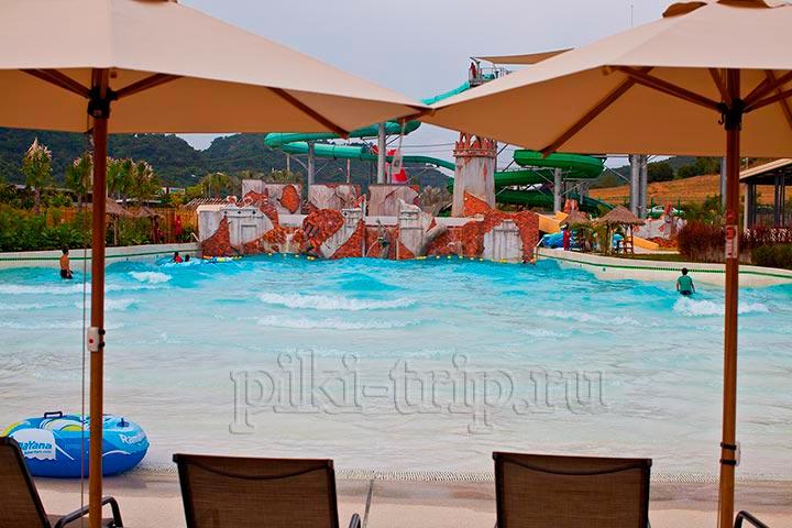 Рамаяна аквапарк фото настоящий пляж с волнами