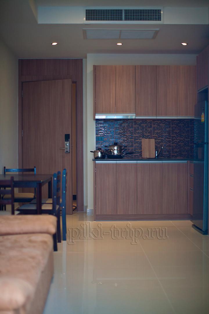 аренда квартиры в Паттайе Нам Талай 1-бедрум фото