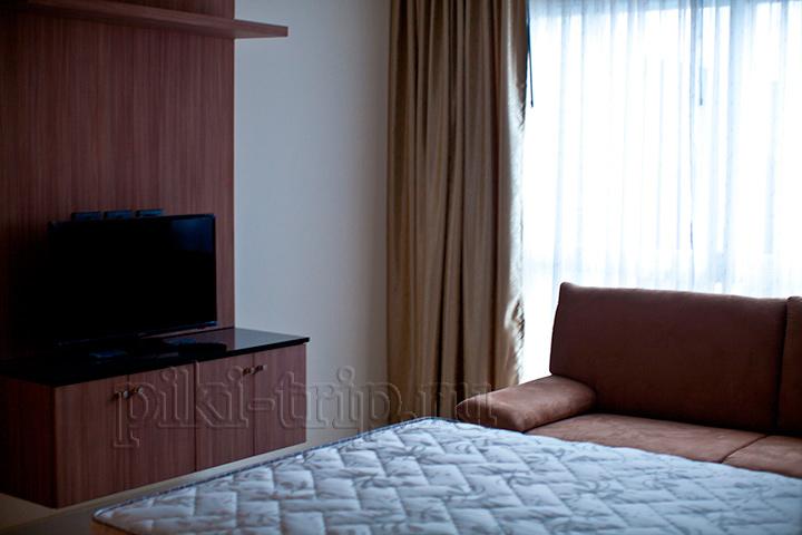 спальня в другой квартире 1-бедрум