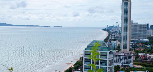 пляж Джомтьен, вид из Люмпини
