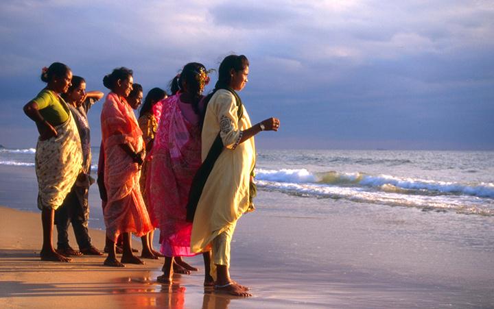 побережье индии