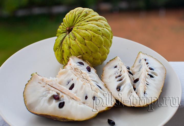вкусная спелая нойна Аннона сахарное яблоко фото