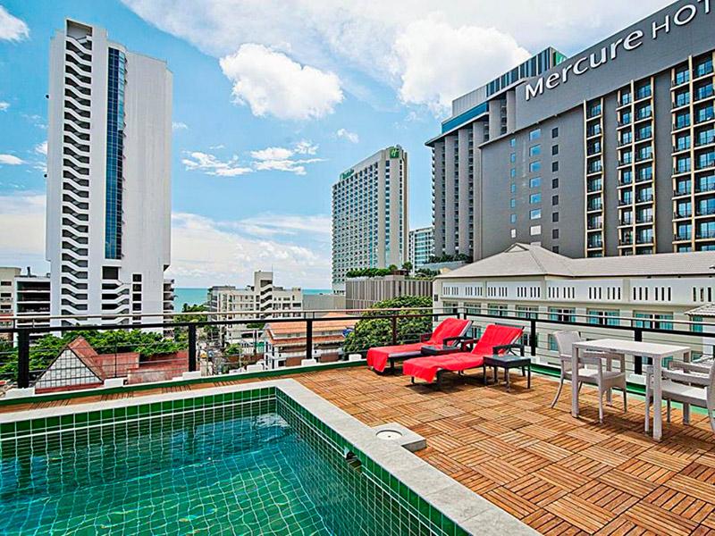 Отель Ситисамр в центре Паттайи