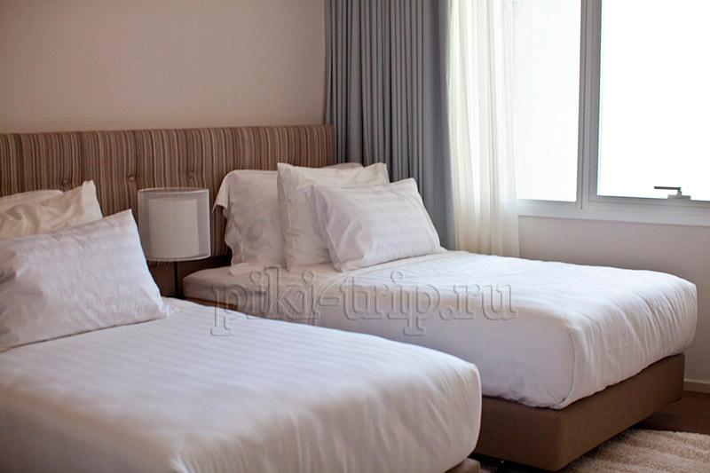 вторая спальня в 2-бедрум