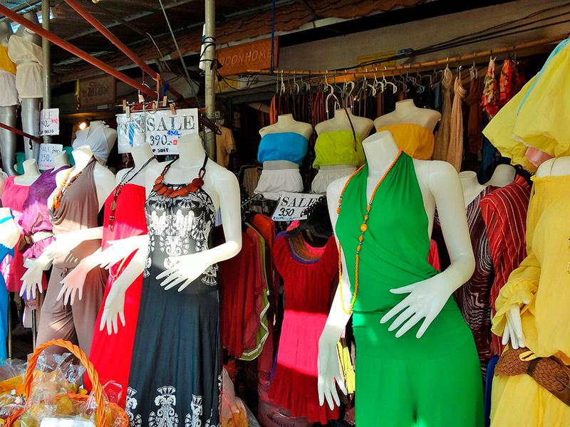 цены на одежду в Паттайе