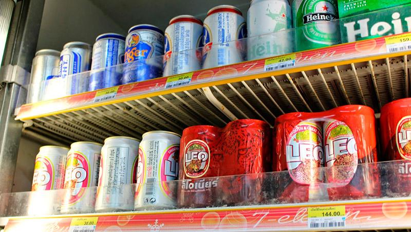 Алкоголь в Тайланде цены 2016-2017