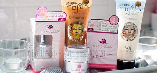 корейская маска тайская маска крем с улиткой серум с улиткой