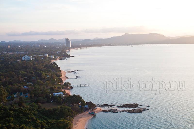 Фото Паттайи - пляжи Бан-ампэ