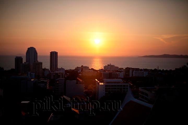 Фото паттайи - закат
