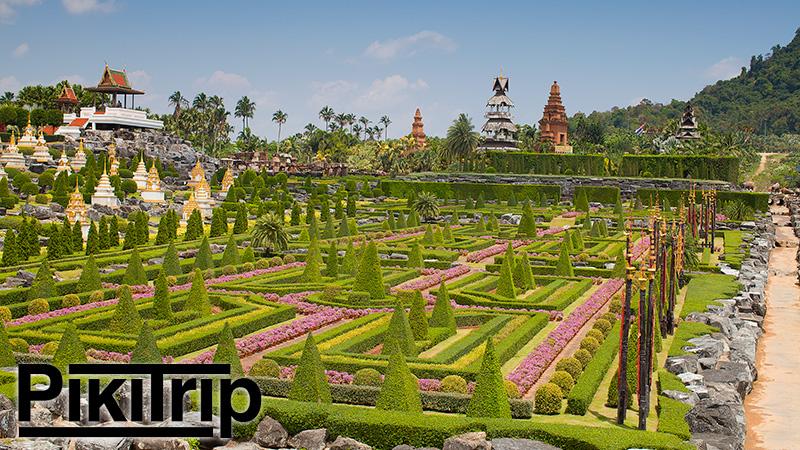 Сад Нонг Нуч фото