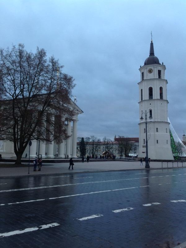 Достопримечательности Вильнюс: Кафедральная площадь