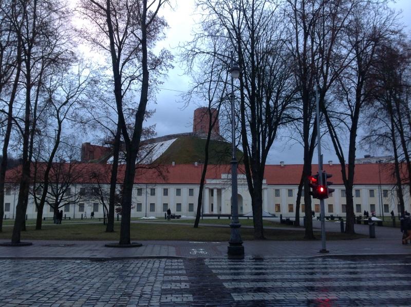 Достопримечательности Вильнюс: Башня Гедемина (Фото)