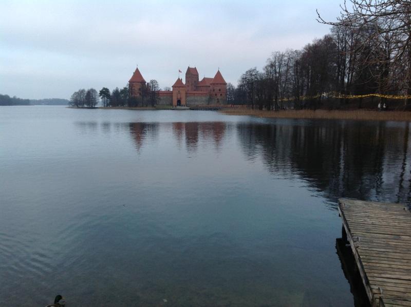 Достопримечательности Вильнюс: Тракайский замок (Фото)