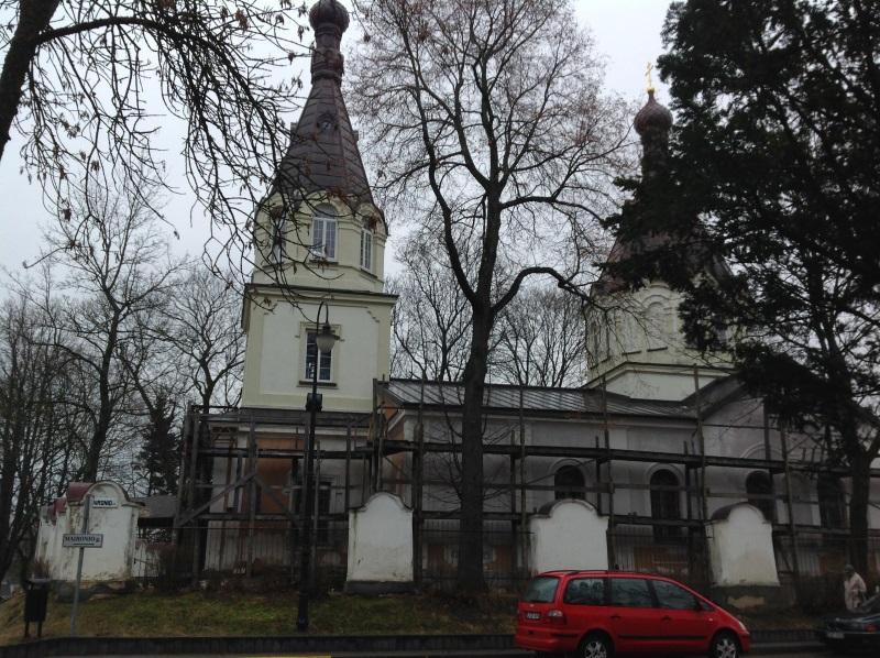 Православная церковь Рождества Пресвятой Богородицы Тракай (фото)