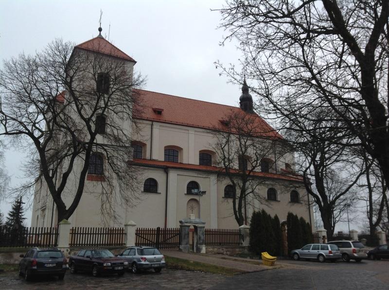 Костел явления пресвятой Девы Марии Тракай (фото)