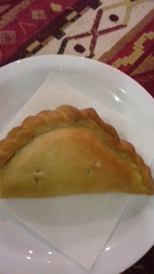 Караимский пирожок кибинай (фото)